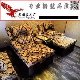 电动足浴沙发足疗沙发休闲沙发床