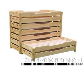 实木儿童床,幼儿园小学培训班,宿舍小学生床