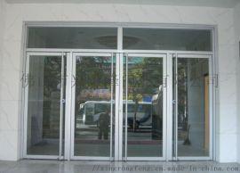 恩平帶框地彈門,訂做商鋪鋁型材地彈門