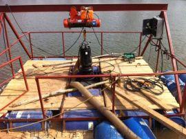 江都市绞吸潜污机 耐用煤浆泵 双搅拌器潜污泵