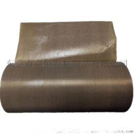 棕色特氟龙胶带 玻纤铁氟龙阻燃耐磨耐高温