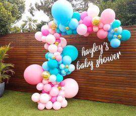 昆明,氣球創意布置,氣球寶寶宴