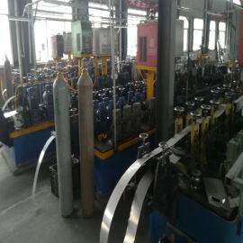 二手不锈钢流体管制管机价格 高频直缝流体管设备