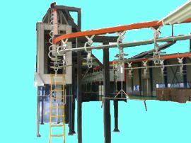 悬挂式清洗/干燥生产线