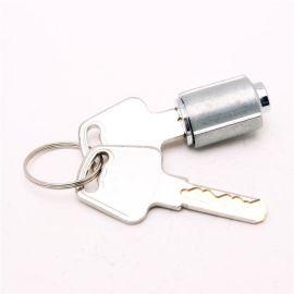 锌合金材质锁芯 不通开铜钥匙挂锁锁芯 定制各种规格锁具配件
