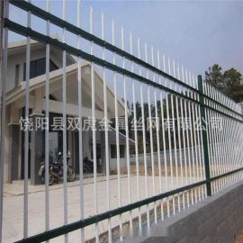 城市高新区绿色隔离护栏 工业园厂房围墙栅栏铁艺栏杆