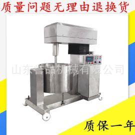 可定小型猪肉打浆机 丸子加工打浆设备 不锈钢100L调速变频打浆机