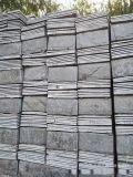 芝麻白和米黄石材板,小狼花石板材,文化石黑板和锈板,园林文化石