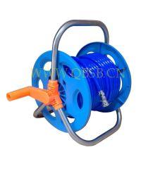 手摇水管车 手动回收夹纱气管卷盘 绕管轴