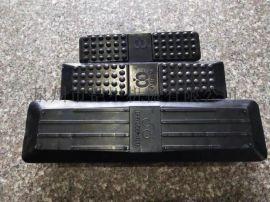 天然橡胶块挖机 欧爱欧履带优质胶块 厂家直销