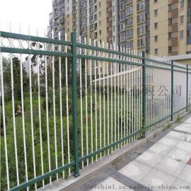 厂区方管锌钢护栏 开发区焊接铁艺围栏
