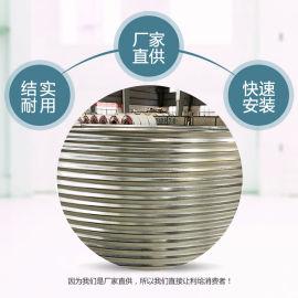 鍍鋅板水池廠家 大型圓桶養殖池 高密度魚池