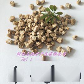 本格厂家供应黄金麦饭石 软麦饭石颗粒 多肉颗粒土