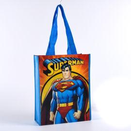 卡通圖案無紡布袋定制logo購物袋禮品袋展會袋