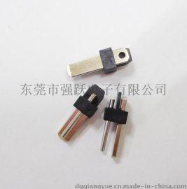 QY專業大量生產01插頭01公頭兩極插頭端子線束電源頭