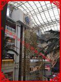 厂家直销,银色水滴,镜面雪花,圣诞树工艺品,商场装饰,圣诞树装饰