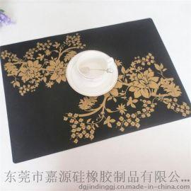 大号硅胶餐垫 防水西餐垫 隔热餐桌垫