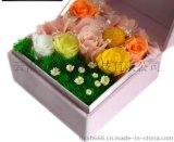 保鲜玫瑰 永生花工艺礼品 创意圣诞节情人节生日礼物 爱等待
