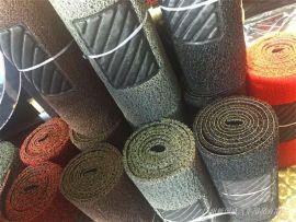 汽车脚垫 带踏板可裁剪丝圈脚垫 草坪地毯 PVC热熔喷丝脚垫 1.2cm厚 0.6*3米