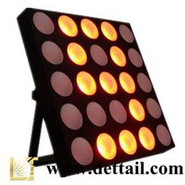 广州荻特舞台灯光厂家直销25颗10瓦四合一全彩LED矩阵灯酒吧灯效果灯频闪灯