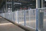 萍鄉物流區域隔離柵 赤山車間隔離防護網 廠區外部邊框式片網