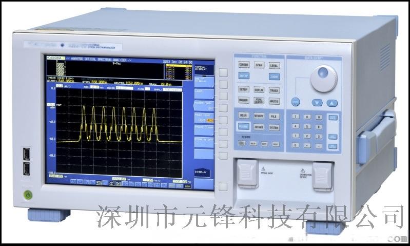 短波长光谱分析仪 YOKOGAWA AQ6373B(350-1200nm)