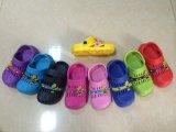 揭陽鞋廠直銷精美兒童花園鞋沙灘拖鞋涼鞋廠家訂做EVA材質拖鞋  PVC三色鞋