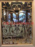 鋁合金隔斷屏風 雕刻鋁板屏風 鋁藝花格 精雕隔斷 廠家直銷