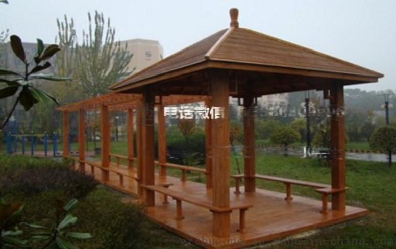 广州防腐木凉亭制作 别墅景观木亭 楼盘木质凉亭生产
