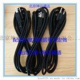 熱銷北京坤興盛達美式三插AC插頭電源線帶梅花尾插線配線SVT 18AWG*3C 黑色線長3米 1.8米