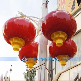 LED广告灯笼  塑料灯笼   春节红灯笼  户外防雨灯笼