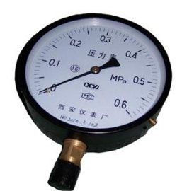 普通压力表(Y-40/60/100/150)