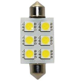 LED汽车车顶灯(双尖-6SMD)