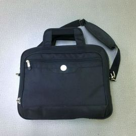 厂家定制防震气囊电脑包男女商务笔记本包公务包文件包单肩包
