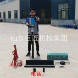 巨匠小型輕便取土鑽機 QTZ-3D電動土壤取樣鑽機無污染不用水