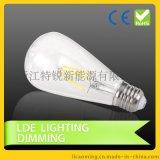 新款LED钨丝灯 led灯丝球泡灯ST64 E27E26螺口 led灯钨丝灯
