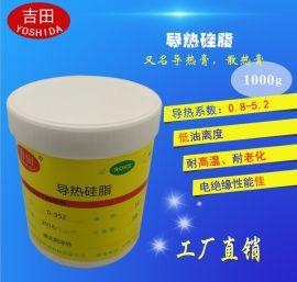 导热硅脂 硅胶 LED大功率导热膏 CPU散热膏 导热系数0.8-2.5