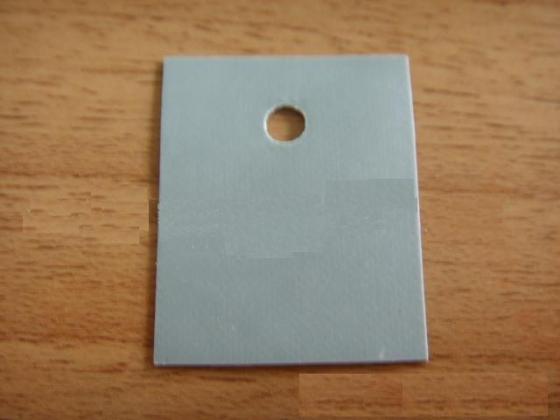 灰色导热矽胶布  导热矽胶片 导热硅胶片