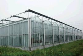玻璃温室大棚电动外遮阳棚系统