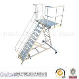 湖南华铝机械供应铝合金登机梯 量身定做 3D设计