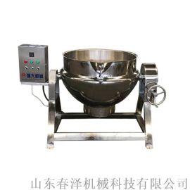 豆豉鱼罐头煮锅 蒸汽加热夹层锅 商用卤煮设备
