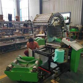 青储玉米秸秆打捆机,全株玉米青贮制作工艺