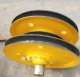 江苏厂家直供3.2t起重机吊钩滑轮组 轧制轮片 抓斗滑轮组双滑轮