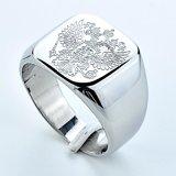 316不锈钢铸造戒指 钛钢首饰 花纹时尚 现货批发生产 外贸货