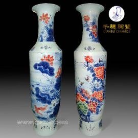 景德镇陶瓷大花瓶定做厂家_大花瓶定做厂家推荐【图片赏析】