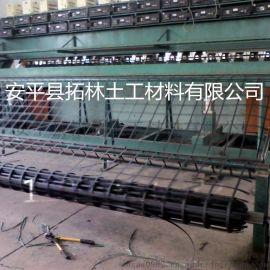拓林稳固路基增强用钢塑土工格栅拉伸钢塑土工格栅