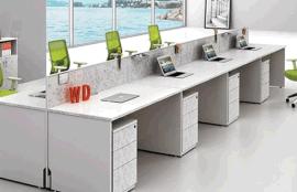 屏风办公桌价格|郑州屏风办公桌厂家|郑州现代钢架屏风桌