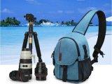 深圳市手袋廠訂做便捷斜背防水帆布相機包單反胸包單肩斜挎攝影包