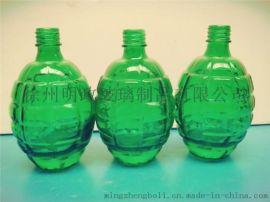 厂家生产绿色酒瓶,玻璃瓶,玻璃罐