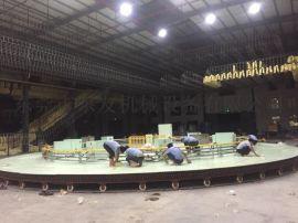 16米圆盘生产线 生产头枕汽车座椅